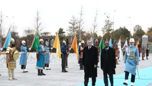 Cumhurbaşkanı Erdoğan, Gine Cumhurbaşkanı Alpha Conde'yi Resmi Törenle Karşıladı/ Fotoğraflar