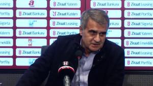 Beşiktaş - Boluspor Maçının Ardından - Şenol Güneş (2)