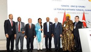 Milli Eğitim Bakanı Yılmaz, Türkiye-Gine İş Forumu'nda Konuştu