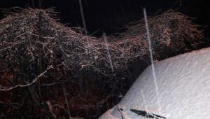 Aydın'da Bazı İlçelerin Yolları Kardan Kapandı