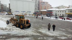 Yozgat'ta Karla Mücadele Devam Ediyor