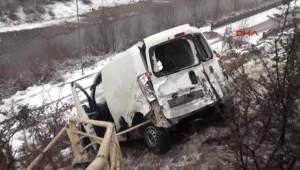 Karabük'te Kaza: 4 Yaralı
