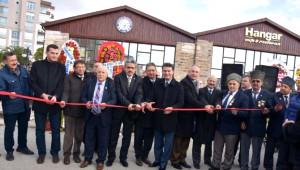 Nazilli'de Hangar Kafe Resmi Törenle Açıldı