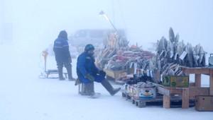 Rusya'nın Yakutsk Kentinde Eksi 64 Derecede Yaşıyorlar