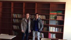 Salihli Myo, İlkokula Kütüphane Kazandırdı