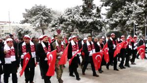Burdur'da Sarıkamış Şehitleri İçin Yürüyüş