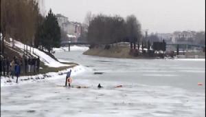 Porsuk'ta Facia; 2 Çocuk Buz Kırılınca Suya Gömülüp Boğuldu- Ek Fotoğraflar