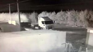 Motorin Hırsızları Güvenlik Kamerasında