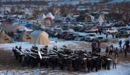 Fotoğraflarla: ABD'de Yerlilerin Çevre Protestosu