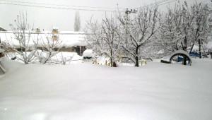 Beytüşşebap'ta Tüm Köy Yolları Kardan Kapandı