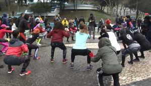 Maçka Parkı'nda Koşulu Protesto