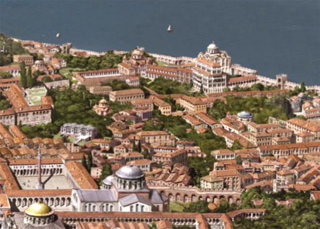 İtalyan Ressamın Çizdiği Fetih Öncesi İstanbul'dan 43 Kare