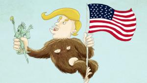 Müslüman Karşıtı Kararlar Alan Trump'ı En Sert Eleştiren 26 Karikatür