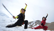 Fotoğraflarla: Dövüş Sporu Öğrenen Afgan Genç Kızlar