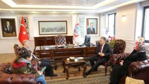 Giresun Valisi Hasan Karahan Melikgazi İletişim Merkezinde