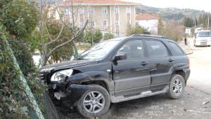 Cip ile Otomobil Çarpıştı: 5 Yaralı