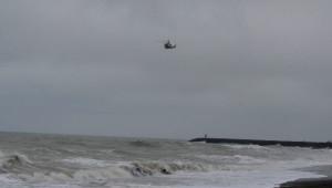 Denizde Kaybolan Balıkçı Helikopter Desteğiyle Aranıyor