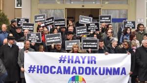 Eskişehir'de Akademisyenlere Destek Eylemleri