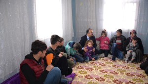 Belediyeye Kayyum Atanan Kaymakam, Ev Ziyaretine Başladı