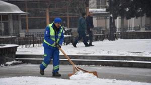 Çorlu'da Kar Yağışı
