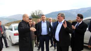 Milletvekili Çaturoğlu, Ereğli-Devrek Yolunu İnceledi