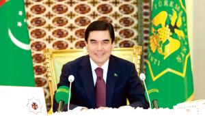 15 Maddede Türkmenistan'ın Devlet Başkanı Kurbankulu Berdimuham