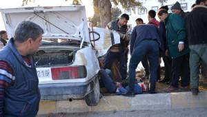 Korkuteli'de Trafik Kazası 1 Ölü 2 Ağır Yaralı