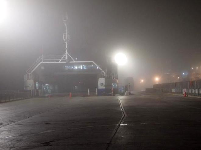 Çanakkale'de Deniz Ulaşımına Sis Engeli