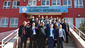 Okul Yönetimi Tarafından Oluşturulan Kütüphane Törenle Açıldı