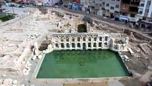 Yozgat'ta Turizme Kazandırılacak Roma Hamamı Çevresinde Kamulaştırma