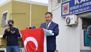 Bakan Yılmaz Şehit Harun Saltalı Ortaokulu'nun Açılışını Yaptı