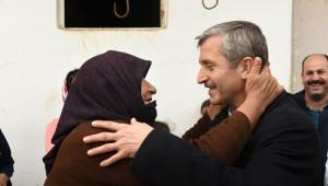 Belediye Başkanı Mehmet Tahmazoğlu, Yeni Mahalleleri Ziyaret Etti