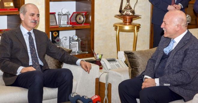Başbakan Yardımcısı Kurtulmuş'tan Başkan Sekmen'e Ekonomi Övgüsü