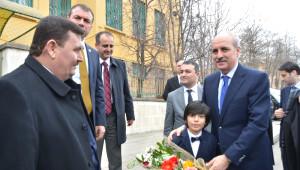 Başbakan Yardımcısı Kurtulmuş Tercan'da