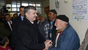 Başkan Akyürek, Seydişehir'de Yatırımları İnceledi