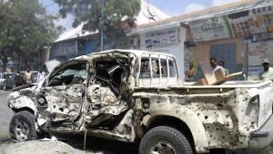 Mogadişu'da Bombalı Araçla İntihar Saldırısı: 8 Ölü