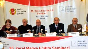 Yerel Gazetecilik Semineri Yalova'da Başladı