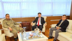 7 Aralık Üniversitesi Rektörü Prof.dr. Karacoşkun'a Ziyaretler Sürüyor