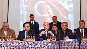 Başkan Sekmen'den Karayazı ve Tekman'a Referandum Çıkarması