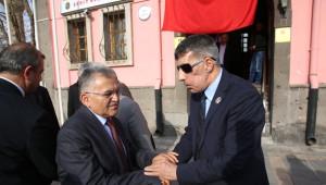 Başkan Büyükkılıç Şehit ve Gaziler Derneğini Ziyaret Etti