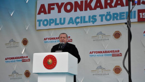 Cumhurbaşkanı Recep Tayyip Erdoğan Afyonkarahisar'da Konuşuyor (2)