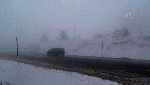 Kar Yağışı ve Sis Etkili Oluyor