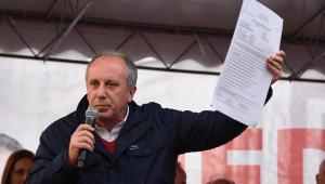 Edirne CHP Yalova Milletvekili Muharrem Ince Edirne'de Konuştu