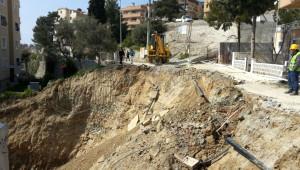Kuşadası'nda Toprak Kayması