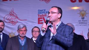 Bakan Bozdağ Bursa'da Vatandaşlara Seslendi