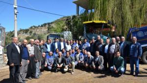 Büyükşehir Belediye Başkanı Türel, Alanya'da Yapılan Katlı Kavşakları İnceledi