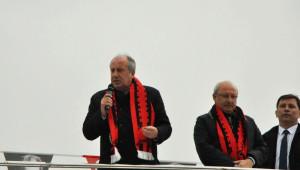 CHP'li Muharrem İnce Eskişehir'de