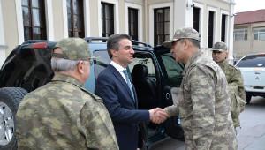 Orgeneral Çolak Bolu'da Askeri Birlikleri Denetledi