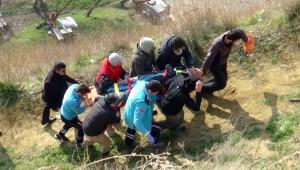 Tekirdağ'da Yamaç Paraşütçüsü Ölümden Döndü