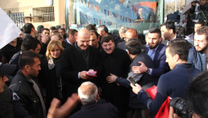 İçişleri Bakanı Soylu, Silvan'da